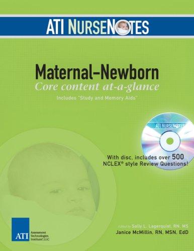 9780976006343: ATI NurseNotes Maternal-Newborn