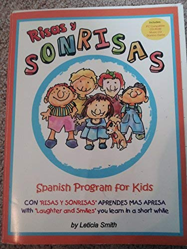 Risas y Sonrisas-Spanish Program for Kids w/cd-rom: Smith, Leticia
