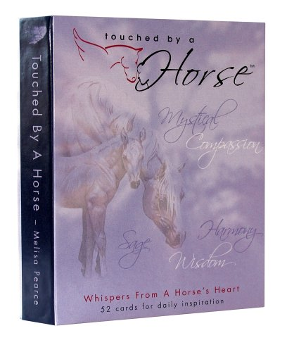 9780976041504: Touched By a Horse Inspirational Deck (Whispers from a Horse's Heart)