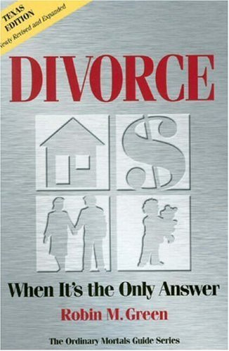 9780976052630: Divorce: When It's the Only Answer