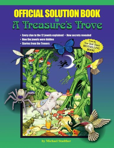 Official Solution Book to A Treasure's Trove: Michael Stadther; Illustrator-Michael