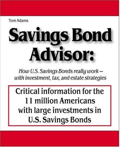 9780976064527: Savings Bond Advisor