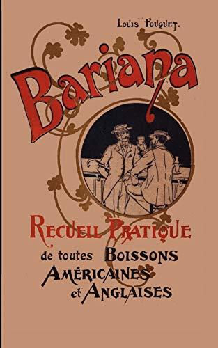 9780976093749: Bariana: Recueil Pratique de toutes Boissons Am�ricaines et Anglaises