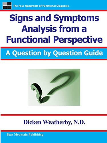 Signs and Symptoms Analysis from a Functional: Dicken Weatherby