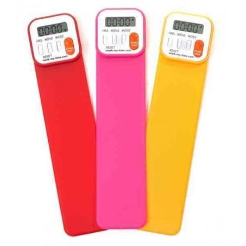 9780976142546: Mark-My-Time Digital Bookmark-Bright Colors