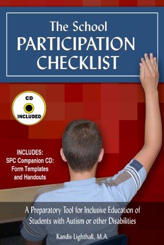 9780976151753: School Participation Checklist (with CD)