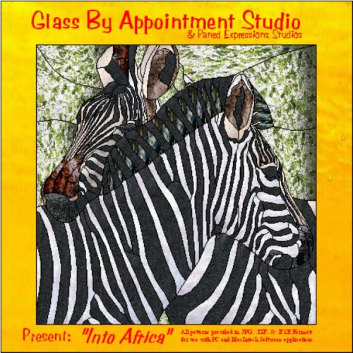 "Glass By Appointment Studio - ""Into Africa"": Paned Expressions Studios; Glass by ..."