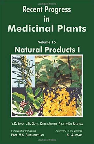 RECENT PROGRESS IN MEDICINAL PLANTS, VOLUME 15: SINGH V.K. ET.AL