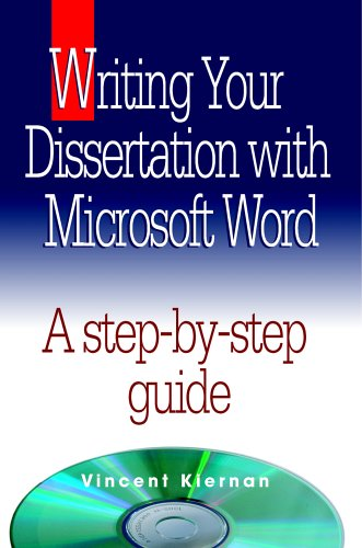 9780976186809: Writing Your Dissertation with Microsoft Word