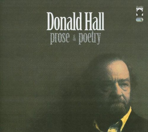 9780976193241: Donald Hall Prose & Poetry