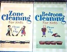 Zone Cleaning For Kids Clean 'N Flip: M. J. Flanagan