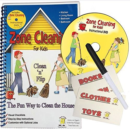 9780976202486: Zone Cleaning For Kids