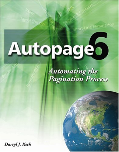 9780976204107: Autopage 6: Automating The Pagination Process