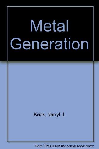 9780976204145: Metal Generation