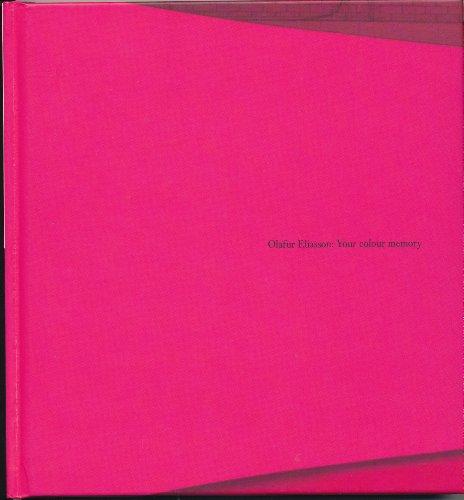 9780976215424: Olafur Eliasson : Your Colour Memory