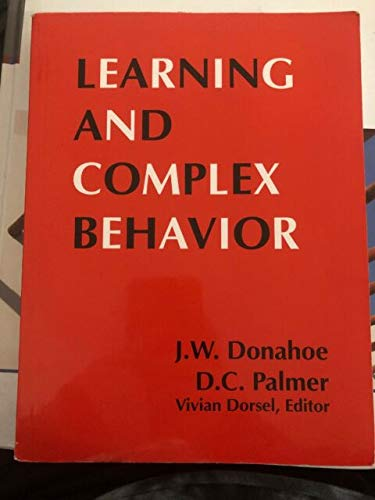 9780976237105: Learning and Complex Behavior [Paperback] by