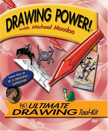 9780976245407: Drawing Power! with Michael Moodoo, Vol. 1: Ultimate Drawing Tool-kit