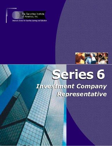 9780976246404: Series 6 Investment Company Representative