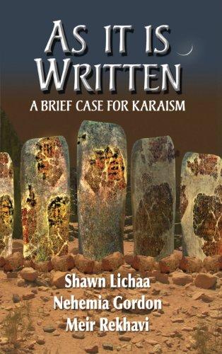 As it Is Written : A Brief: Shawn Lichaa; Meir