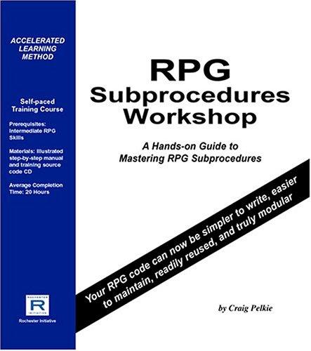 9780976269267: RPG Subprocedures Workshop
