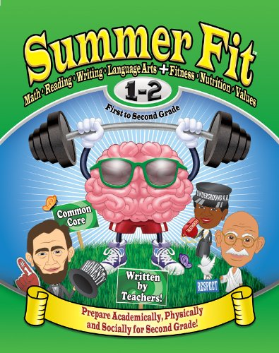 9780976280064: Summer Fit First to Second Grade: Math, Reading, Writing, Language Arts + Fitness, Nutrition and Values
