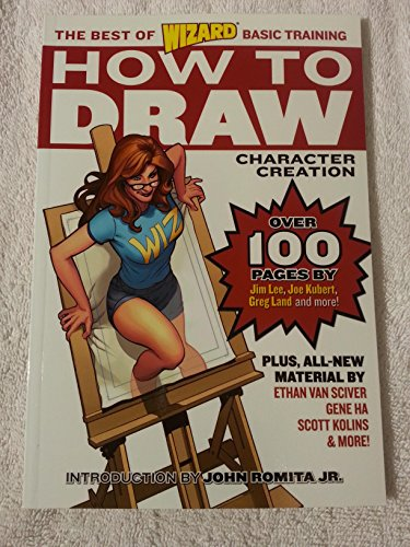 Wizard How to Draw: Character Creation (Wizard Best of Basic Training)