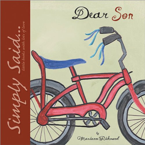 9780976310112: Dear Son: Simply Said...Little Books with Lots of Love (Marianne Richmond)