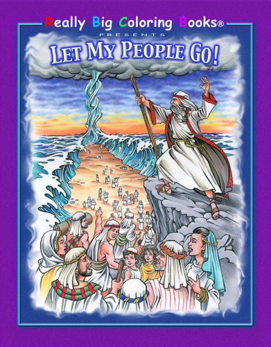 9780976318699: Let My People Go - Oversized Coloring Book - AbeBooks ...