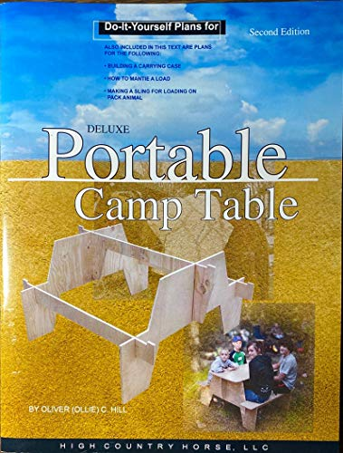 9780976334248: Do-it-yourself Plans for Packable / Portable Table