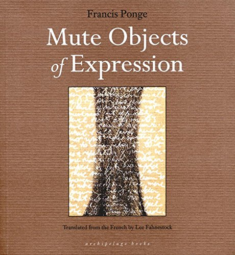 9780976395034: Mute Objects of Expression