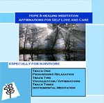 9780976400271: Hope and Healing Meditation CD Especially for Survivors