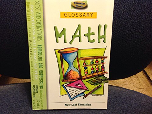 Essential Words Math Glossary (Word Mastery Series)