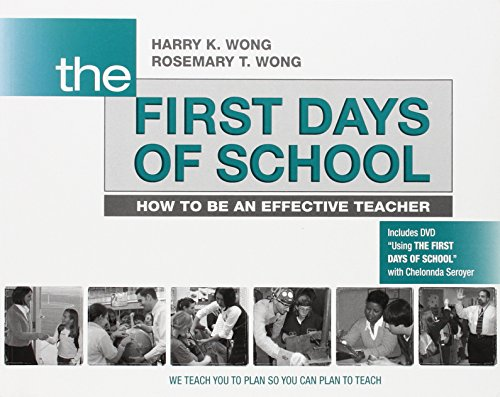 9780976423317: The First Days of School: How to Be an Effective Teacher (Book & DVD)