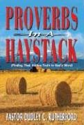 9780976428909: Proverbs in a Haystack: Finding That Hidden Truth in God's Word