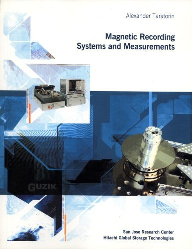 9780976453406: Magnetic Recording Systems and Measurement
