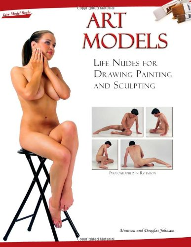 9780976457336: Art Models: Life Nudes for for Drawing Painting and Sculpting (Book & DVD-ROM)