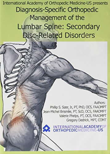 9780976475729: IAOM Lumbar Spine Secondary Disc DVD (443DVD)