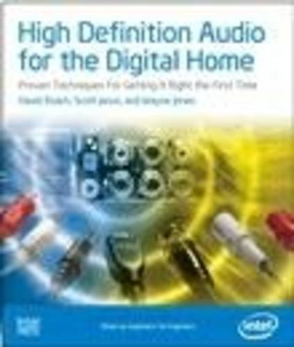 9780976483229: High Definition Audio for the Digital Home: Proven Techniques For Getting It Right The First Time (Computer System Design)