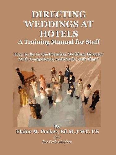 9780976494072: Directing Weddings at Hotels: A Training Manual for Staff