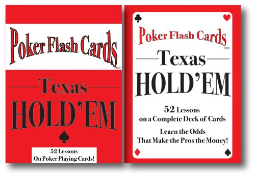 9780976502500: Poker Flash Cards for Texas Hold 'Em
