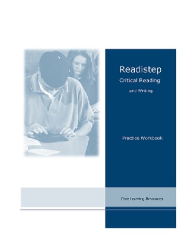 9780976539445: Readistep Critical Reading and Writing
