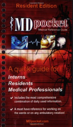 Mdpocket Medical Reference Guide: Resident Edition: A: Pennington, Desi