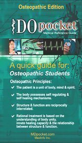 9780976544043: DOpocket Medical Reference Guide: Osteopathic Edition