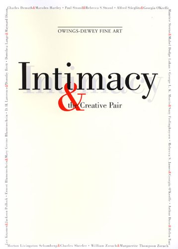 Intimacy & the Creative Pair: Exhibition catalog