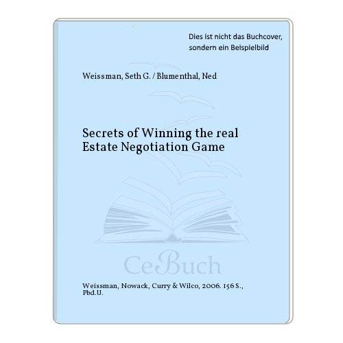 9780976584117: Secrets of Winning the Real Estate Negotiation Game