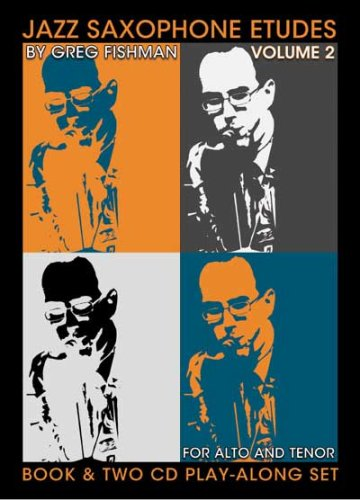 9780976615347: Jazz Saxophone Etudes, Volume 2