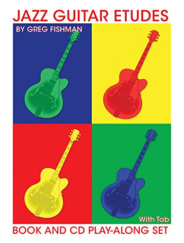 9780976615378: Jazz Guitar Etudes [With Tab]