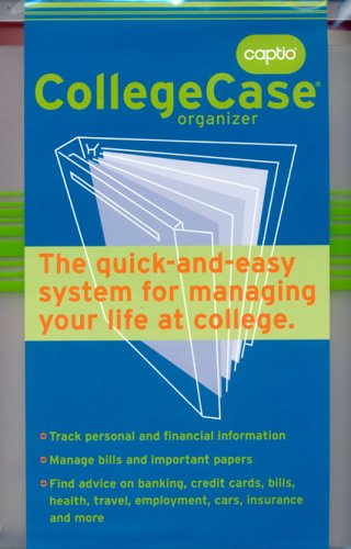 9780976661405: Captio CollegeCase: The quick-and-easy system for managing your life at college.