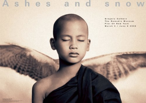 9780976671510: Winged monk New York exhibition (giant poster) (Ashes and Snow Posters)