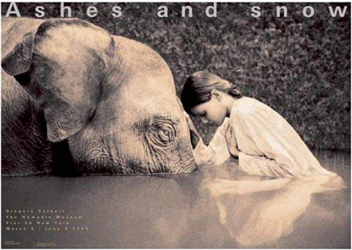 Girl with Elephant New York Exhibition (Standard Poster): New York Exhibition (Standard Poster)